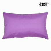 Coussin panama violet by Loomin Bloom