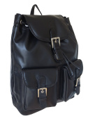 Rowallan Men's Leather Backpack, Large