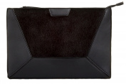 Girly HandBags Fur Envelope Clutch Bag