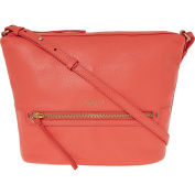 Womens Radley Coral Leather Cross Body Bag