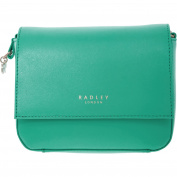 Womens Radley Mint Green Mini Leather Cross Body Bag