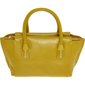 Womens Radley Mustard Leather Mini Tote Bag