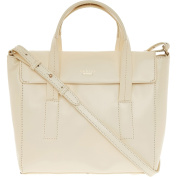 Womens Radley Cream Flap-Top Leather Grab Bag