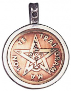 Tetragrammaton Talisman for Divine Guidance & Knowledge Amulet Charm