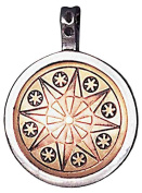 Earth-Star Flower Talisman for Serenity & Inner Strength Amulet Charm