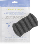 The Konjac Sponge for Konjac Body Sponge with Bamboo Charcoal