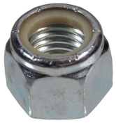 The Hillman Group 180144 Nylon Insert Lock Nut, 25cm by 80cm , 100-Pack by The Hillman Group