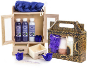 BRUBAKER Cosmetics 'Blueberry Vanilla' Bath and Body Gift Set