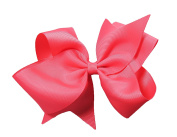 PrettyBoutique 15cm Girls Large Grosgrain Hair Bow Alligator Clip