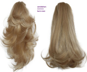"PRETTYSHOP 14"" OR 18"" Hair Piece Clip On Pony Tail Extension 2 IN 1 Curled Wavy Heat-Resisting Diverse Colours H309"