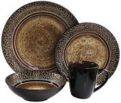 American Atelier 16-Piece Markham Square Dinnerware Set