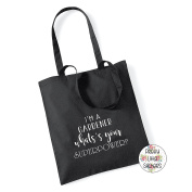 I'M A GARDNER WHAT'S YOUR SUPEROWER. Cotton Tote Bag Gift Bag Christmas Xmas Present Keepsake