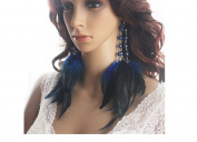 Feather Earrings for Women Long Feather Earrings for Women 11b3-5