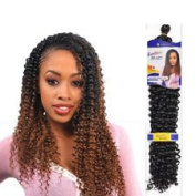 Black. Freetress WATER WAVE Bulk, (Braid, Crochet or Pick and Drop) Braid 22 inche premium Hair Extension