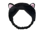 Women Cute Cat Ears Headband Hairband for Wash Your Face and Make up