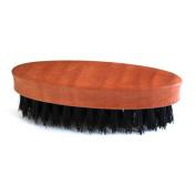 Beard Brush with Pear Wood Handle and Natural Bristles - Men's Grooming by RIVENBERT