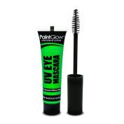 PaintGlow UV Neon Eye Mascara, Neon Green 15 ml