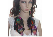Feather Earrings for Women Long Feather Earrings for Women 82b2-15