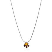 Sterling Silver Amber Necklace Chain 50cm
