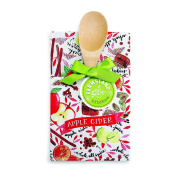 DEMDACO Apple Cider Tea Towel and Spoon Set, Multicolor