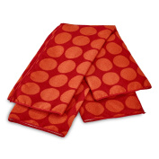 BUILT NY Kitchen Towels, Red, Set of 2