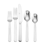 Mikasa Blume 20-Piece Stainless Steel Flatware Set, Service for 4