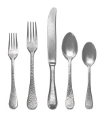 Mepra Epoque 5 Piece Place Setting, Pewter