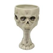 Pacific Trading Giftware Skull Grim Reaper Goblet Ceramic Gothic Evil