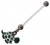 Maternity Turtle Belly Bar 1.6 x 25 mm PTFE Can Be Shortened