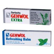 Gehwol Foot Cream Extra & Refreshing Balm Bundle