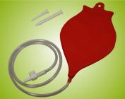 Home enema kit (1,2 litres) - red
