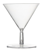Fineline Settings Tiny Temptations Clear Two Piece 60ml Tiny 'Tini Glass 120 Pieces