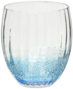 Abbott Collection Optic and Blue Bubble Tumbler