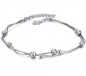 Fengteng Platinum Plated Snakeskin Chain Lady Chain Anklets