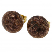 Starlight Small Stud Earrings - Amethyst