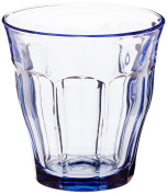 Duralex Made In France Picardie Marine Glass Tumbler (Set of 6), 260ml, Blue