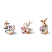 Halcyon Collection, Bunny Tumblers, Set of 3