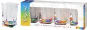 Merritt International Acrylic Drinkware Gift Sets Rainbow Crystal Tumbler, 410ml