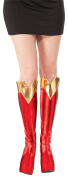 Rubie's Costume Co Women'S Dc Superheroes Supergirl Boot Tops One Size Multi