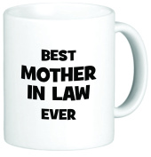 Rikki Knight Best Mother in Law Ever 330ml Ceramic Coffee Mug Cup