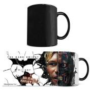 Morphing Mug Batman Dark Knight Trilogy (Two Face) Ceramic Mug, Black