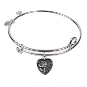 SOL 230015 Grandmother, Bangle Sterling Silver Plated
