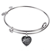 SOL 230014 Sister, Bangle Sterling Silver Plated