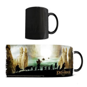 Morphing Mugs Lord of the Rings (The Fellowship of the Ring) Ceramic Mug, Black
