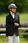 Equi Theme Ladies Horse Riding Show Jumping Competition Dressage Jacket All Size