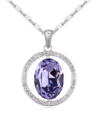 FANSING Jewellery Made with Element Crystal Pendant Necklaces for Women