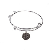 SOL 230062 Lighthouse, Bangle Sterling Silver Plated