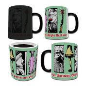 Morphing Mug Christmas Story (Next Year) Ceramic Mug, Black
