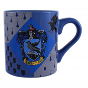 Harry Potter HP6932 Ravenclaw House Crest Ceramic Mug, 410ml, Multicolor