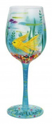Lolita Glassware In My Own World Wine Glass (GLS11-5543N), Multicolor